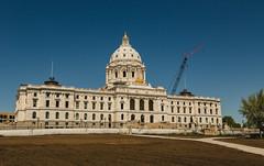 Minnesota State Capitol (Tony Webster) Tags: capitol capitolbuilding minnesota minnesotastatecapitol saintpaul stpaul statecapitol construction renovations restorations unitedstates us