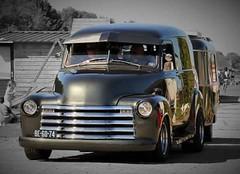 1948 Chevrolet Panel truck (v8meetings) Tags: 1948 chevrolet panel truck