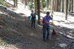 spring clean #2 (1 of 12) (singlespeeder) Tags: fta forestcity lanig mattp raking springclean