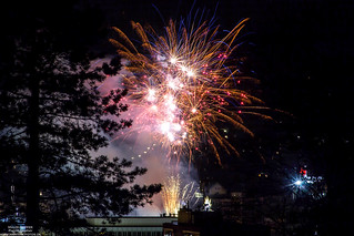 Firework for 200 Year Anniversary of our borough...