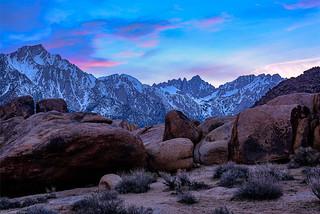 Peaceful Sierra Sunset
