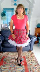 "Frilly Kilt (Trixy Deans) Tags: crossdresser cd cute crossdressing crossdress classy shemale hot highheels heels heelssexy heels"" skirts shortskirt shortskirts stockings stilettoheels tgirl tv transvestite transgendered transsexual tgirls trixydeans transvesite tranny"
