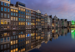 Amsterdam Classic (mcalma68) Tags: amsterdam canal cityscape sky waterfront reflections architecture urban sony a7ii 1635mm 20mm f13 25sec