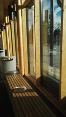 Bookcrossing release (zimort) Tags: bok book bookcrossing wildrelease gjøvik stasjon benk bench