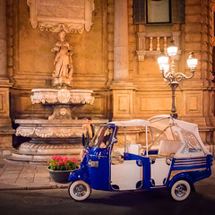 Quattro Canti | Ape Calesse (Salvatore Grigoli) Tags: palermo sicilia quattrocanti ape calesse notturno nightly italia