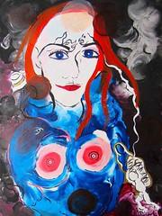 LES YEUX DE SISYPHE (Claude Bolduc) Tags: outsiderart artbrut artsingulier visionaryart intuitiveart teen lowbrow selftaughartist autodidacte peinture painting horsnorme artcollectors surrealism