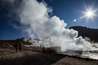 The highest Geysers in the world