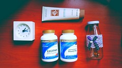 Daily supplement and lotion . #Healthcare #Shaklee #Supplement #routine #daily #food #lotion #ikea (sobi_wardah) Tags: daily shaklee healthcare supplement food ikea routine lotion