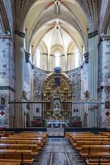 DSC6749 Interior de la Iglesia del Monasterio de Santa Maria la Real de Nieva, finales del siglo XIV y principios del siglo XV, (Segovia) (Ramón Muñoz - ARTE) Tags: monasterio de santa maría la real nieva