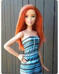 Chloé, la rouquine 🌞 (.LanyLane.) Tags: barbie barbiefashionistas mattel redhair