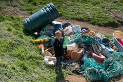 Isle of Wight Beach Clean at Compton Bay - DSCF2112 (s0ulsurfing) Tags: s0ulsurfing 2017 march isle wight beachclean pollution coast compton beach rubbish