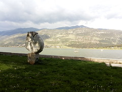 The Lake of Ioannina (Kevin Jasini) Tags: nature lake sculpture ioannina janina greqi greece