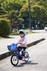 2017-04-30-10h23m49-2 (LittleBunny Chiu) Tags: 皇居外苑 腳踏車 騎腳踏車 日本 東京 日本旅行 去日本旅行 東京台場 台場 人工沙灘 御台場海濱公園