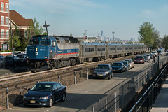 The Early Rush (sullivan1985) Tags: train railroad railway passenger nj passengertrain metronorth mncw f40 f40ph f40ph3c commutertrain commuter locomotive emd electromotive bergencounty rutherford eastrutherford manhattan manhattanskyline worldtradecenter wtc