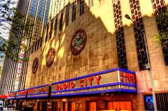 Radio City (Tryppyhead) Tags: nyc 2017 spring architecture buildings artdeco 20thcentury usa skyscraper hdr nikond7200 photomatixpro4 paintshoppro
