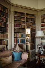 (Celeste Noche) Tags: scotland books photo series uk dalmeny house secret cabinet