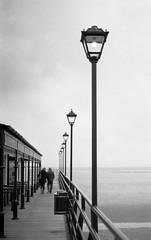 FILM - On the pier (fishyfish_arcade) Tags: 35mm analogphotography bw berggerpancro400 blackwhite blackandwhite filmphotography filmisnotdead istillshootfilm monochrome p30t pentax rikenon50mmf2 analogcamera film mono cleethorpes