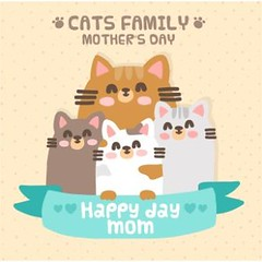free vector Happy Family Of Cat's background (cgvector) Tags: 2017 2017mother 2017newmother 2017vectorsofmother abstract animal anniversary art background banner beautiful blossom bow card care cat catmom cats celebration concepts curve day decoration decorative design event family female festive flower fun gift graphic greeting happiness happy happymom happymother happymothersday2017 heart holiday illustration latestnewmother lettering loop love lovelymom maaday mom momday momdaynew mother mothers mum mummy ornament parent pattern pink present ribbon satin spring symbol text typography vector wallpaper wallpapermother