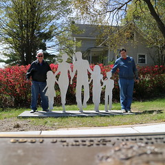 May 05, 2017 (27) (gaymay) Tags: michigan gay love vacation bigrapids mecostacounty artcatchers statue sculpture