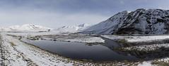 Iceland (richard.mcmanus.) Tags: iceland landscape winter snow reflection vik arctic panorama
