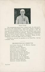 1925-09-21-Organization Day program-17 (Old Guard History) Tags: 1925 3dusinfantryregimenttheoldguard fortsnelling minnesota organizationday