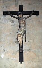 Crucifix01 (MikeLane) Tags: france hauteloire brioude basilique basilica stjulien statues church religion religious mi medieval miracle