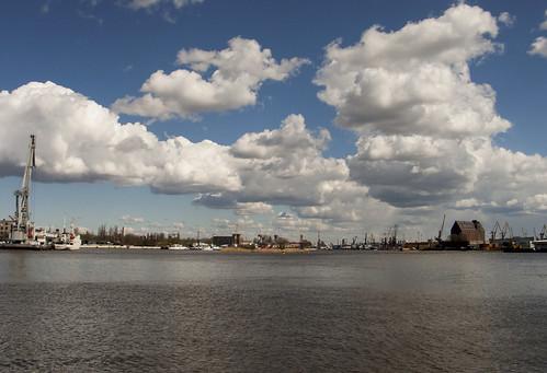 Преголя. Порт ©  Victor NN