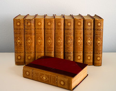 George Eliot 1908 Edition (Tim Ravenscroft) Tags: georgeeliot books antique works set volumes hasselblad x1d