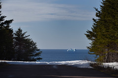 Unexpected Iceberg (Zircon_215) Tags: iceberg ice newfoundland straitofbelleisle