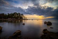 Clouds over Niinilahti (Jyrki Salmi) Tags: jyrki salmi niinilahti mussalo kotka finland sunset clouds sea outdoor
