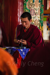 Mongolia-130803-629 (Kelly Cheng) Tags: amarbayasgalantmonastery asia buddhism centralasia mongolia ceremony color colorful colour colourful culture heritage indoor monk people persons pray prayer red religion tourism travel traveldestinations vertical vivid