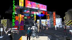 BlueOrangeTokyo7 (grady.echegaray) Tags: tokyo neon japan worldmusic blueorangeclub bohemianclub slstyle slfashion secondlife avatar danceparty dancing