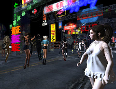 BlueOrangeTokyo3 (grady.echegaray) Tags: tokyo neon japan worldmusic blueorangeclub bohemianclub slstyle slfashion secondlife avatar danceparty dancing