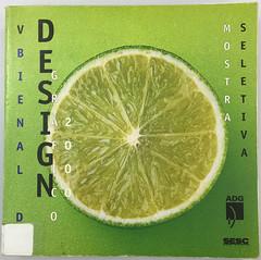 Catálogo da 5ª Bienal de Design Gráfico ADG 2000 (Érico Lebedenco) Tags: adg brasil design gráfico graphic br bienal mostra 2000