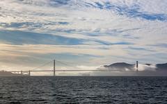Golden Gate Bridge, San Francisco (russellstreet) Tags: overcastcloud california unitedstatesofamerica water sanfrancisco goldengatebridge cloud usa