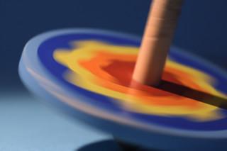 Spinning Top - Intentional Blur - Macro Mondays
