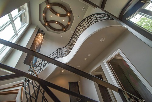 modern stairs and railing by #andronx