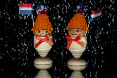 Kingsday in de snow (gelein.zaamslag) Tags: holland thenetherlands kingsday koningsdag willemmaxima