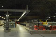 St Pancras (lcfcian1) Tags: london st pancras stpancras eurostar train trains platform eurostarplatform