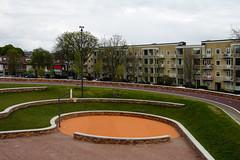 Dafne Schippersbrug and playground (davidvankeulen) Tags: daphne schippersbrug daphneschippersbrug straat street stad city stadt ville davidvankeulen davidvankeulennl davidcvankeulen urbandc europe fietsbrug cyclebridge