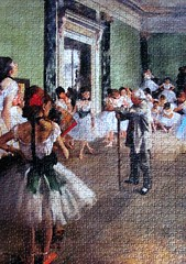 The Dancing Class (pefkosmad) Tags: jigsaw puzzle hobby leisure pastime edgardegas thedancingclass danceclass fineart painting art complete new unopened sealed 1000pieces ravensburger ballet dancers