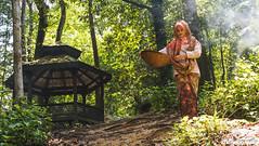 Iffa (LoretoGraphy) Tags: lady girl woman beautiful attractive pretty cute traditional native asian malay malaysian muslim hijab light naturallight sun sunlight eyes face smile day daylight loretography