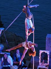 Alfa Marks & Jack Rees (real ramona) Tags: flown minack poc circus cornwall aerial rope stunt acro stage
