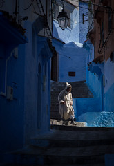 20170409 Chefchaouen 157 (blogmulo) Tags: light blue morocco chaouen travel chefchaouen street