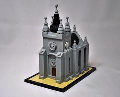 The Wicked Zoot Abbey (vitreolum) Tags: lego vitreolum microscale abbey
