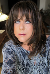 I'm just a girl in the world... (Irene Nyman) Tags: irene nyman irenenyman cutetgirl blueeyes crossdresser crossdress brunette portrait closeup makeup bambi