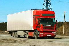 Scania 114L 380  Н 395 ТТ 56 (zauralec) Tags: kurgancity therouter254irtysh город курган трасса трассар254иртыш автомобиль грузовик scania 114l 380 н 395 тт 56