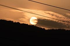 Sunsets we rises... (aaryenderpal) Tags: sun sunset mountain nature awesomeness beautiful