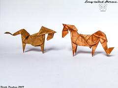 Long-tailed Horses - Barth Dunkan (Magic Fingaz) Tags: barthdunkan caballo cavallo cheval horse koń konj kuda ló paard pferd άλογο кінь лошадь घोड़ा ม้า 말 うま 马