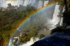 IMG_0318 Waterfall's rainbow (Rodolfo Frino) Tags: waterfall iguazu cataratas falls rainbow trees forest water river rio colors colours naturaleza natural nature natura paisaje landscape scenery scene waterscape